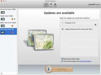 Captura 3 de GARMIN Express para mac