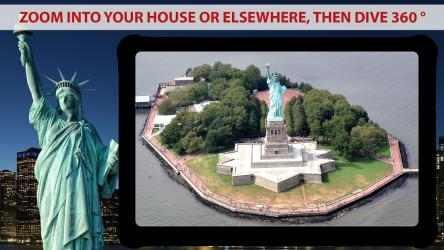 Captura de Pantalla 2 de mapa de la tierra en vivo Y vista satelital para android