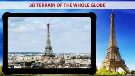 Captura de Pantalla 10 de mapa de la tierra en vivo Y vista satelital para android
