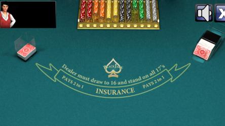 Screenshot 2 de Blackjack- para windows