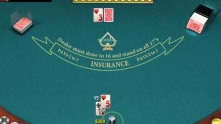 Screenshot 3 de Blackjack- para windows
