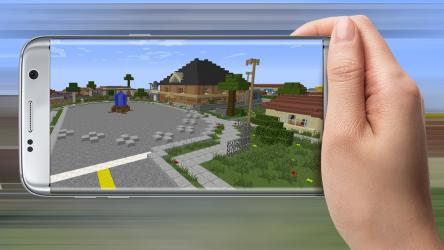Captura 2 de Auto Craft San Andreas for MCPE para android