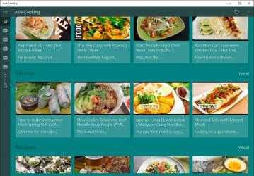 Captura 1 de Asia Cooking para windows