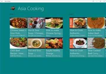 Screenshot 3 de Asia Cooking para windows