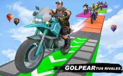Captura de Pantalla 2 de GT Bike Crazy Tracks Race: 3D Motorcycle Stunts para android