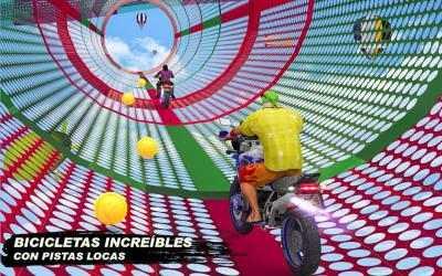 Screenshot 10 de GT Bike Crazy Tracks Race: 3D Motorcycle Stunts para android