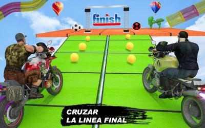 Captura 12 de GT Bike Crazy Tracks Race: 3D Motorcycle Stunts para android