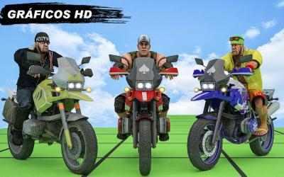 Captura de Pantalla 9 de GT Bike Crazy Tracks Race: 3D Motorcycle Stunts para android
