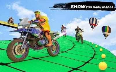 Screenshot 3 de GT Bike Crazy Tracks Race: 3D Motorcycle Stunts para android
