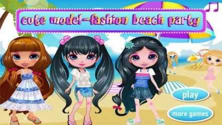 Imágen 1 de Cute Model - Fashion Beach Party para windows