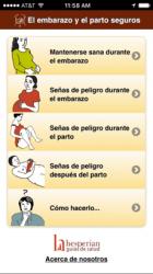 Captura de Pantalla 1 de El embarazo y el parto seguros para iphone