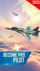 Imágen 10 de Modern Airplane Pilot Flight Sim - New Plane Games para android