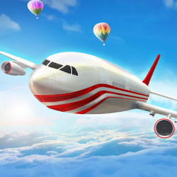 Screenshot 1 de Modern Airplane Pilot Flight Sim - New Plane Games para android