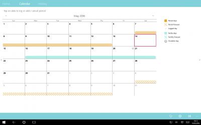 Captura 2 de EVA Period Tracker PRO para windows