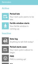Captura 8 de EVA Period Tracker PRO para windows