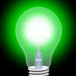 Captura de Pantalla 1 de Luz Verde para android