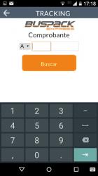 Captura 5 de BUSPACK Express para android