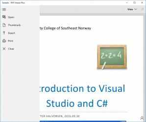 Captura de Pantalla 3 de PDF Viewer Plus para windows