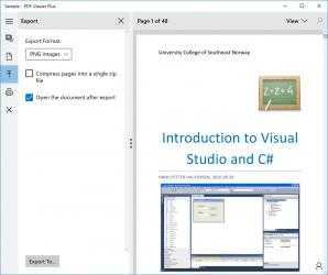 Screenshot 4 de PDF Viewer Plus para windows