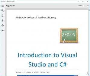 Captura de Pantalla 2 de PDF Viewer Plus para windows