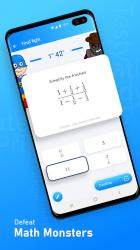 Captura de Pantalla 3 de Mathman: aprende matemáticas y sé un superhéroe para android
