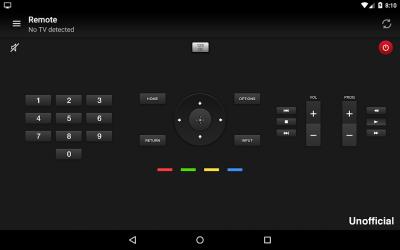 Captura 5 de Remoto para sony tv para android