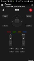 Captura 2 de Remoto para sony tv para android