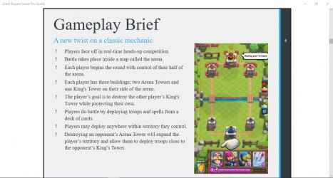 Captura de Pantalla 1 de Clash Royale Game Pro Guide para windows