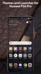 Captura de Pantalla 2 de Theme launcher for Huawei p30 para android