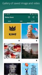 Screenshot 3 de Story saver for whatsapp para android