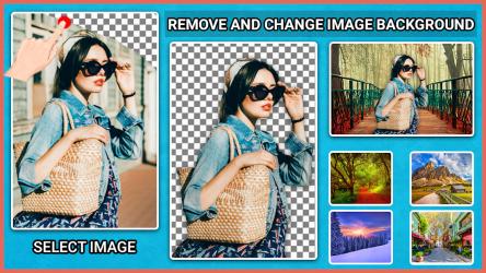 Imágen 4 de eliminar objetos de las fotos _ Fondo transparente para android