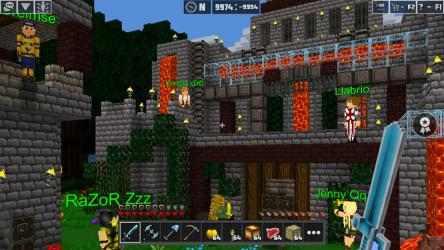 Screenshot 14 de PlanetCraft: Craft Survival Mini World para windows