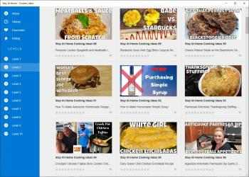 Screenshot 2 de Stay At Home - Cookery Ideas para windows