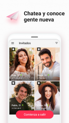Captura 2 de Chat y dating - Sweet Meet para android