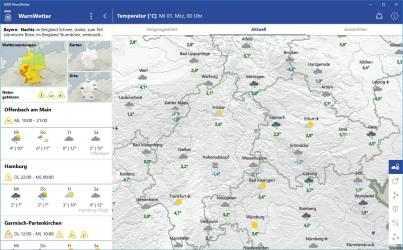 Screenshot 4 de DWD WarnWetter para windows