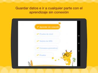 Screenshot 13 de Aprende Inglés, Japonés o Coreano con LingoDeer para android