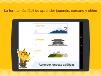Screenshot 10 de Aprende Inglés, Japonés o Coreano con LingoDeer para android