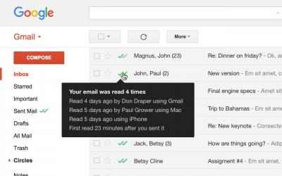 Imágen 1 de Mailtrack for Gmail & Inbox: Email tracking para windows