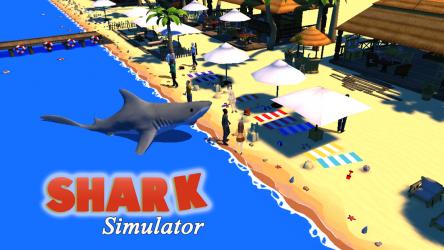 Screenshot 2 de Shark Simulator para android