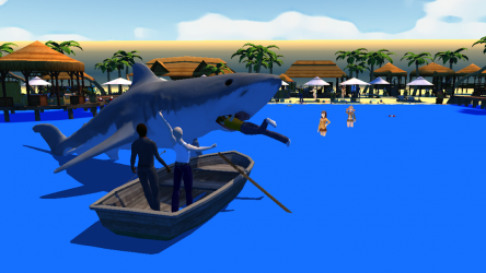 Captura de Pantalla 3 de Shark Simulator para android