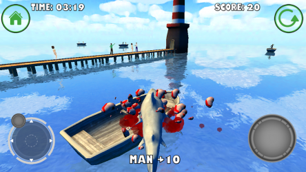 Captura de Pantalla 6 de Shark Simulator para android