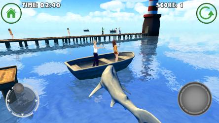 Screenshot 5 de Shark Simulator para android