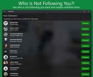 Imágen 12 de Followers Insight para windows