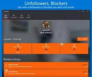 Captura de Pantalla 9 de Followers Insight para windows