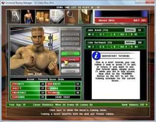 Screenshot 3 de Universal Boxing Manager para mac
