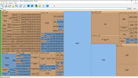 Screenshot 1 de SpaceSniffer para windows