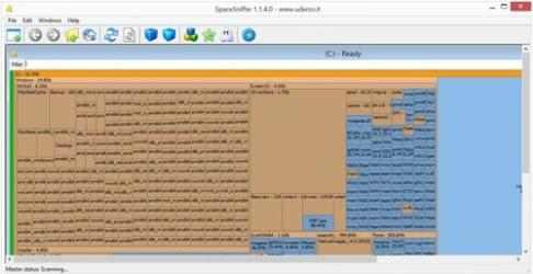 Captura 2 de SpaceSniffer para windows