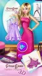 Captura 3 de Diseñar Vestidos de Fiesta: 3D Juegos para Niñas para iphone