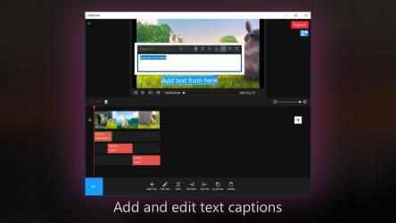 Captura de Pantalla 3 de FilmForth: Slideshow, Video Editor, Movie Maker para windows
