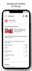 Screenshot 1 de YouTube Studio para iphone